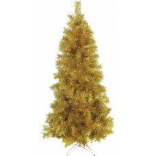 Χριστουγεννιάτικο Δέντρο Gold Slim (2,10m)