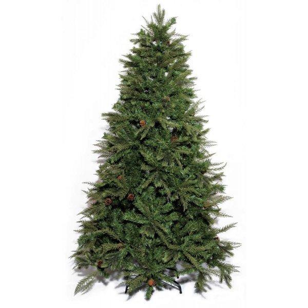 Χριστουγεννιάτικο Δέντρο Akron Pine με Κουκουνάρια (1,80m)