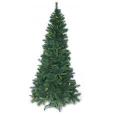 Χριστουγεννιάτικο Δέντρο Smoky, με Κουκουνάρια (2,40m)