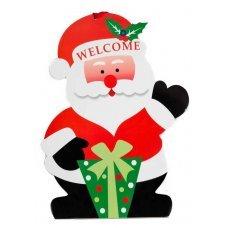 Χριστουγεννιάτικος Διακοσμητικός Παιδικός Κρεμαστός Άγιος Βασίλης (38cm)