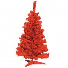 Χριστουγεννιάτικο Επιτραπέζιο Δέντρο Κόκκινο (80cm)