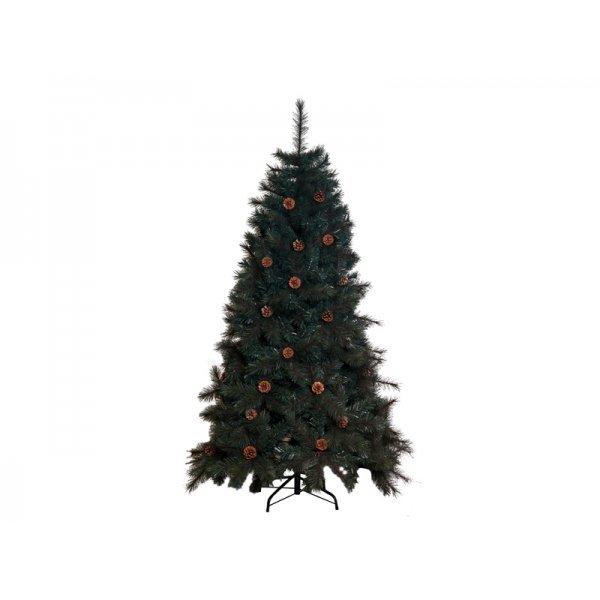 Χριστουγεννιάτικο Δέντρο με Κουκουνάρια (1,80m)