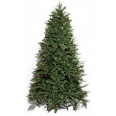 Χριστουγεννιάτικο Δέντρο Akron Pine, με Κουκουνάρια (1,80m)