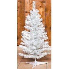 Χριστουγεννιάτικο Επιτραπέζιο Δέντρο Λευκό (80cm)