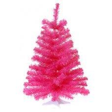 Χριστουγεννιάτικο Επιτραπέζιο Δέντρο, Ροζ (60cm)