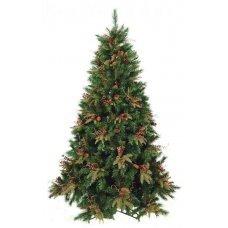 Χριστουγεννιάτικο Δέντρο CHT με Γκι και Κουκουνάρια (2,70m)