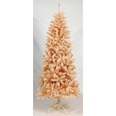 Χριστουγεννιάτικο Δέντρο Flocked Pink (2,10m)