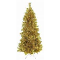 Χριστουγεννιάτικο Δέντρο Gold Slim (1,80m)