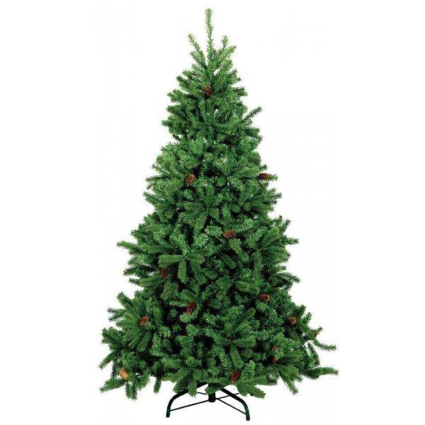 Χριστουγεννιάτικο Δέντρο HO με Κουκουνάρια (2,40m)