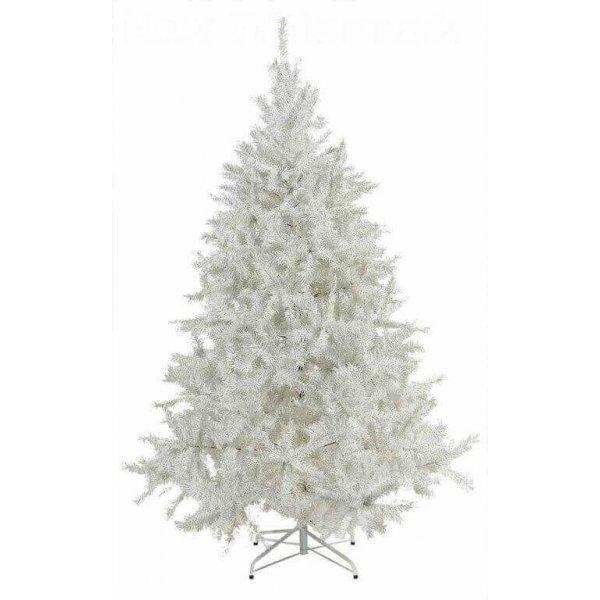 Χριστουγεννιάτικο Δέντρο Λευκό (1,50m)