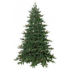 Χριστουγεννιάτικο Δέντρο Όλυμπος με Κουκουνάρια (2,10m)