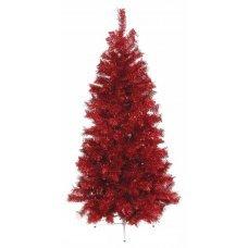 Χριστουγεννιάτικο Δέντρο Red Slim (2,10m)