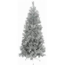 Χριστουγεννιάτικο Δέντρο Silver Slim (1,80m)
