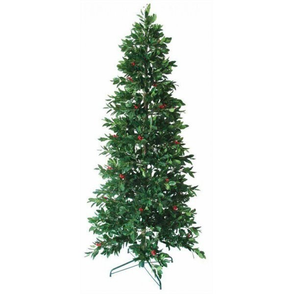 Χριστουγεννιάτικο Δέντρο Slim με Γκι (1,80m)