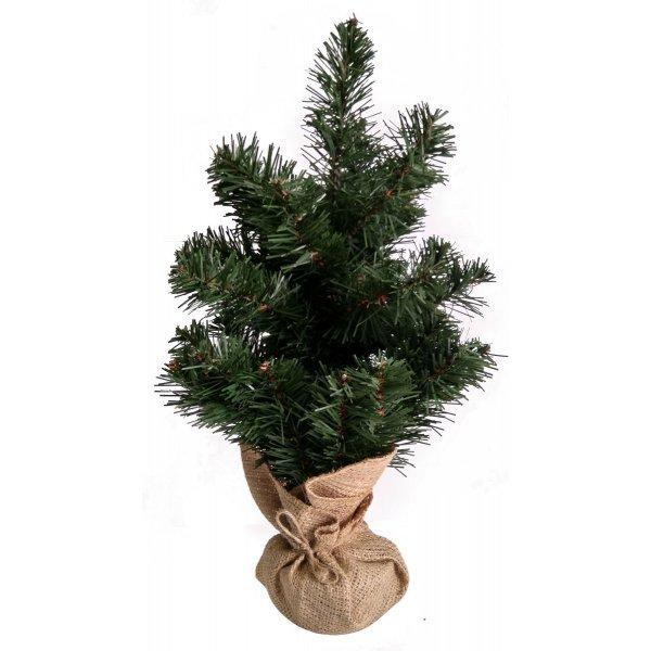 Χριστουγεννιάτικο Επιτραπέζιο Δέντρο με Σακί (40cm)