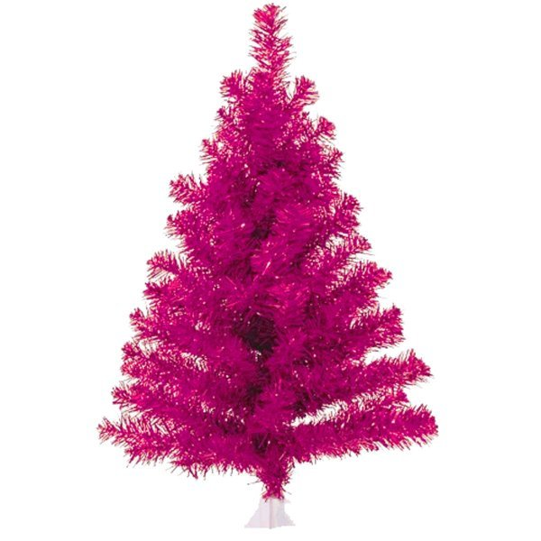 Χριστουγεννιάτικο Επιτραπέζιο Δέντρο Φούξια (60cm)