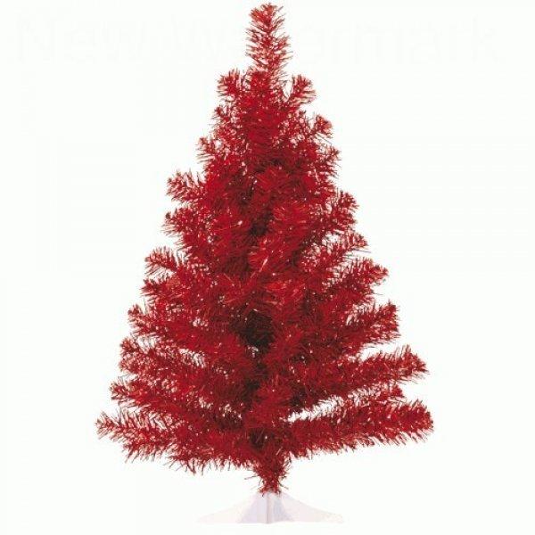 Χριστουγεννιάτικο Επιτραπέζιο Δέντρο Κόκκινο (60cm)