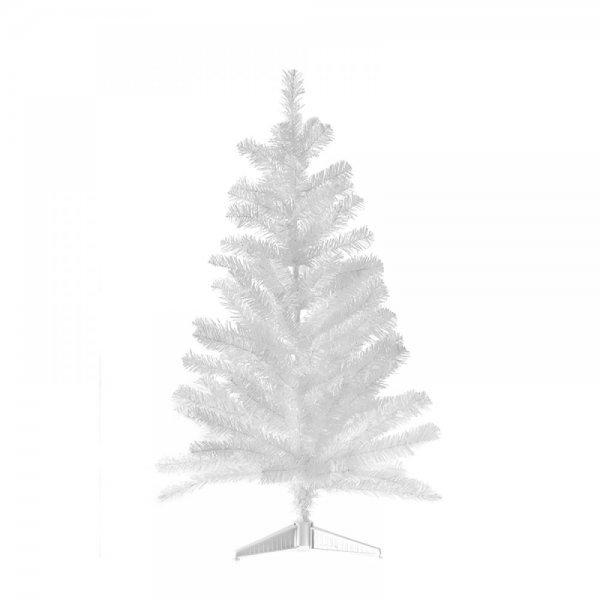 Χριστουγεννιάτικο Επιτραπέζιο Δέντρο Ασημί (60cm)