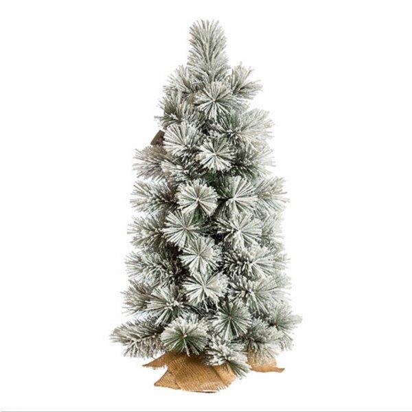 Χριστουγεννιάτικο Επιτραπέζιο Δέντρο Χιονισμένο Chicago (90cm)