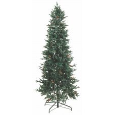 Χριστουγεννιάτικο Δέντρο Slim με Κουκουνάρια (1,80m)