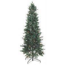Χριστουγεννιάτικο Δέντρο Slim με Κουκουνάρια (2,10m)