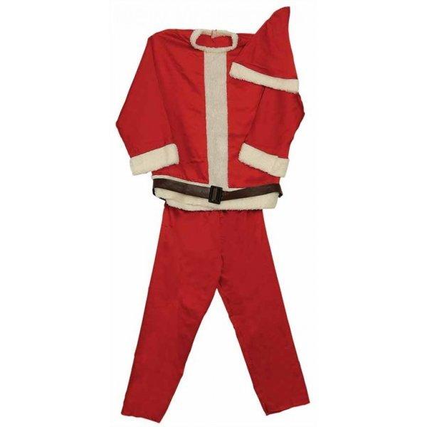 Χριστουγεννιάτικη Στολή Ενηλίκων, Άγιος Βασίλης - Σετ 3 τεμ. (One Size)