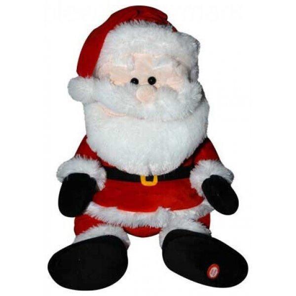 Χριστουγεννιάτικος Λούτρινος Άγιος Βασίλης, Καλαντούλης (30cm)