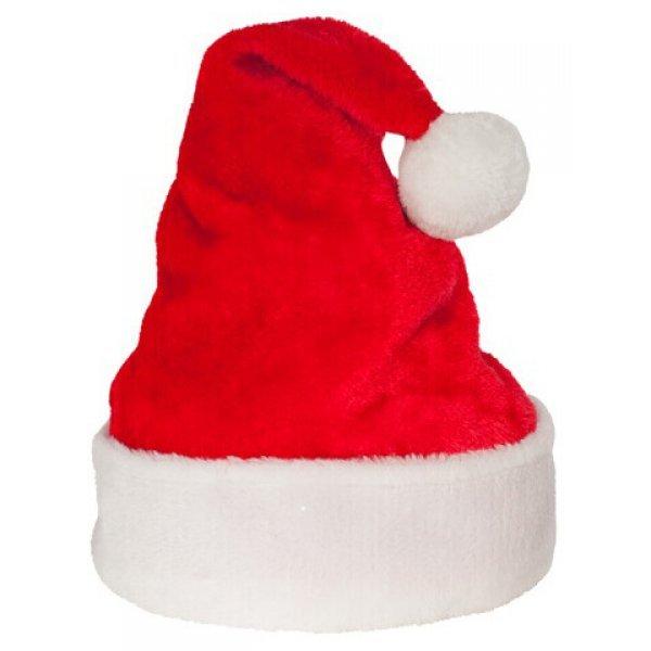 Χριστουγεννιάτικος Σκούφος Άγιου Βασίλη Ροζ, LUX (51cm)