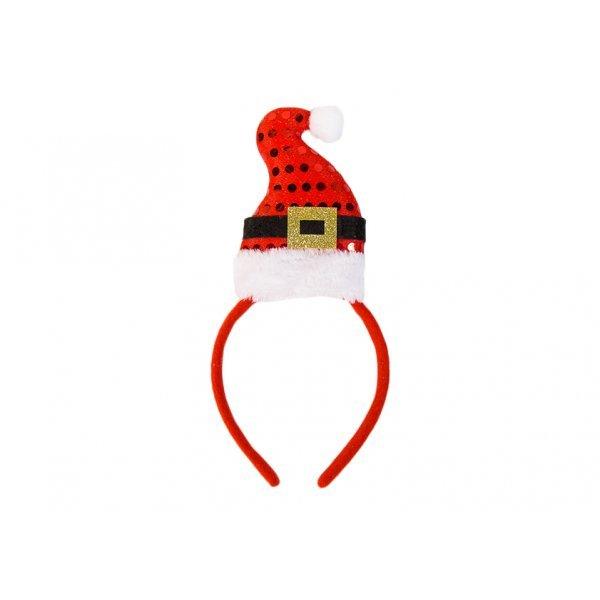 Χριστουγεννιάτικη Στέκα Σκούφος Άγιος Βασίλης