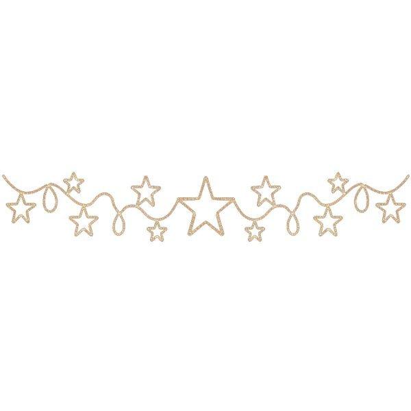 Χριστουγεννιάτικη Γιρλάντα Αστέρια με Φωτοσωλήνα (6m)