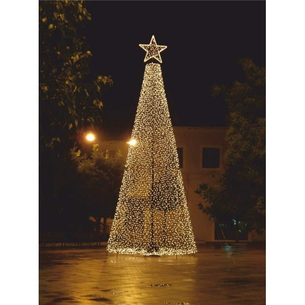 Xριστουγεννιάτικο Δέντρο Πλατείας με LED (11m)