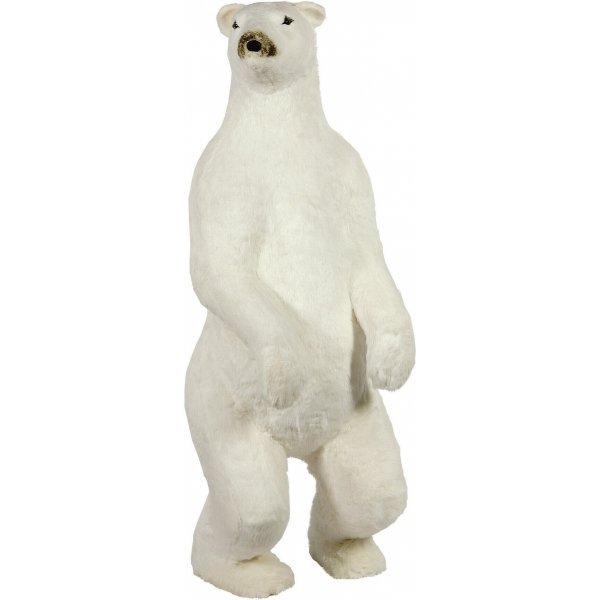 Χριστουγεννιάτικη Διακοσμητική Πολική Αρκούδα, Όρθια (185cm)