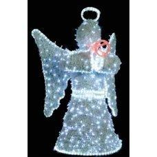 Χριστουγεννιάτικος Φωτιζόμενος Ακρυλικός Άγγελος με LED (1.2m)