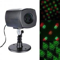 Χριστουγεννιάτικος Projector Laser με Αισθητήρα Φωτός και Χρονοδιακόπτη (37cm)