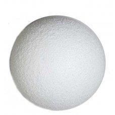 Χριστουγεννιάτικη Λευκή Μπάλα (12cm)
