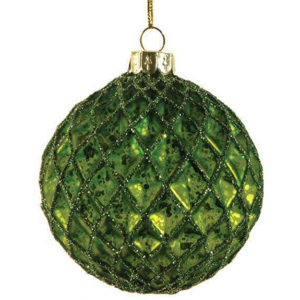 Μπάλα Πράσινη, με Ανάγλυφους Ρόμβους (μεγάλη)