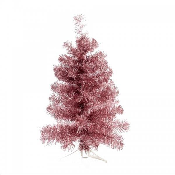 Χριστουγεννιάτικο Επιτραπέζιο Δέντρο Ροζ (60cm)