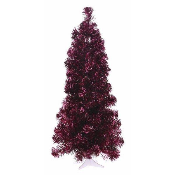 Χριστουγεννιάτικο Επιτραπέζιο Κόκκινο Δέντρο Slim (75cm)