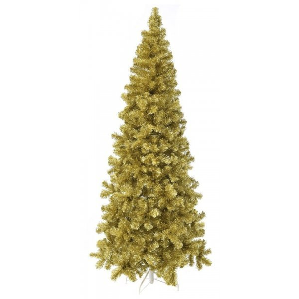 Χριστουγεννιάτικο Δέντρο Rose Gold Slim (2,10m)