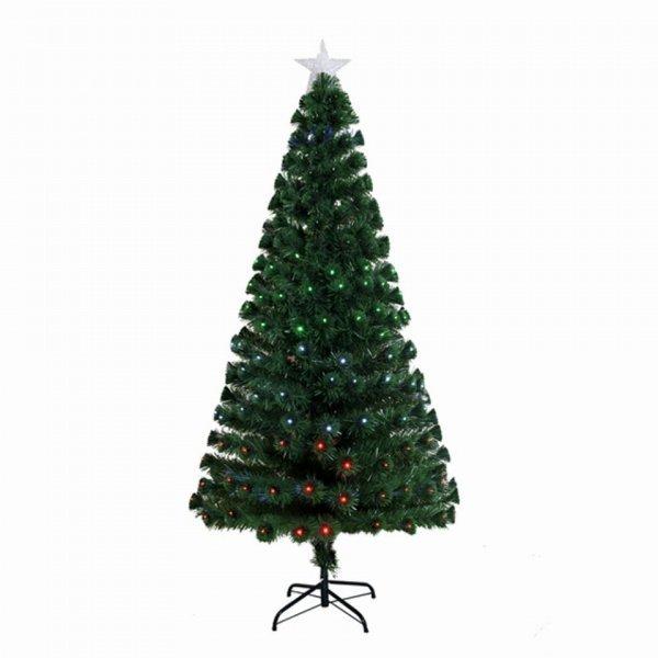 Χριστουγεννιάτικο Φωτιζόμενο Δέντρο Πράσινo με LED (90cm)