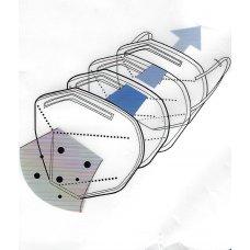 Μάσκα Προσώπου FFP2 Υψηλής Προστασίας Συσκευασία 10 τεμαχίων